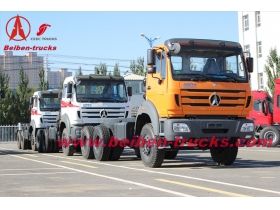congo 420hp beiben truck tractor north benz 2642S haulage prime mover military quality truck