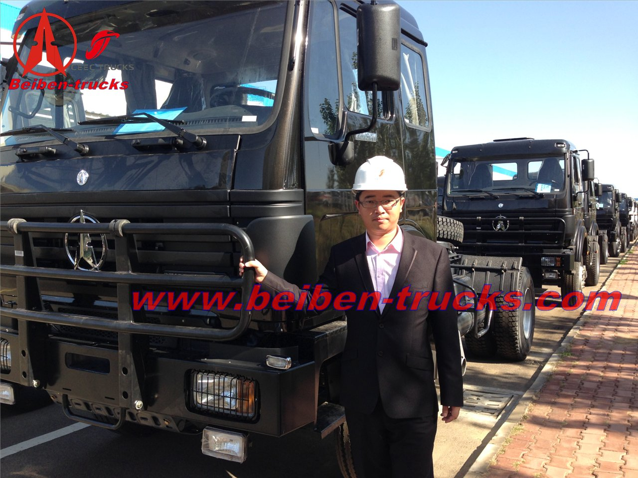 China truck Beiben 10 wheeler prime mover 340hp supplier