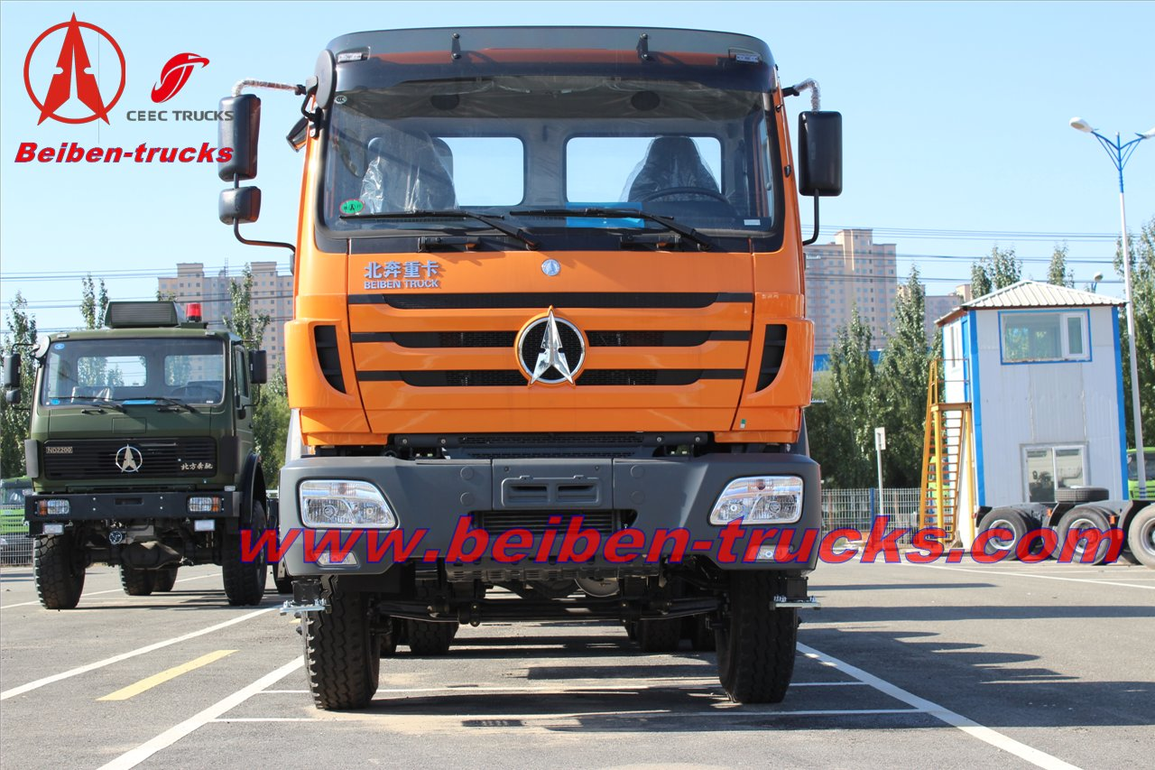 Beiben tractor truck 10 tyres truck head north benz prime mover  supplier
