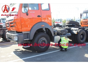 Hot sale Beiben 4x2 6 roues camion tracteur benz technology truck head  supplier