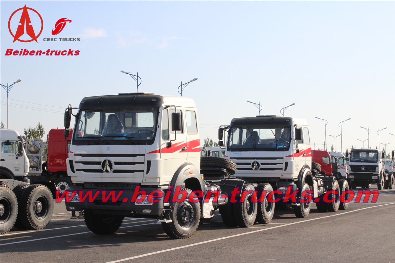 congo Bei ben 380hp tractor truck 6x4 truck head  supplier