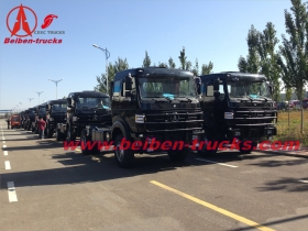 china Beiben 6x4 10 wheels tractor truck 420hp weichai engine