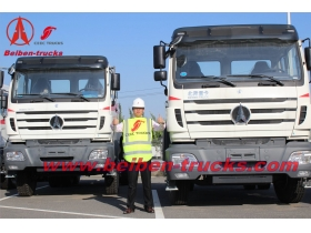 china Beiben camion tracteur North BENZ truck head for Africa