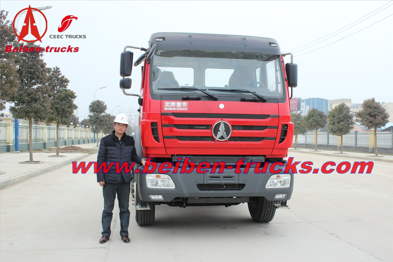 china New Beiben NG80 truck tractor for high land