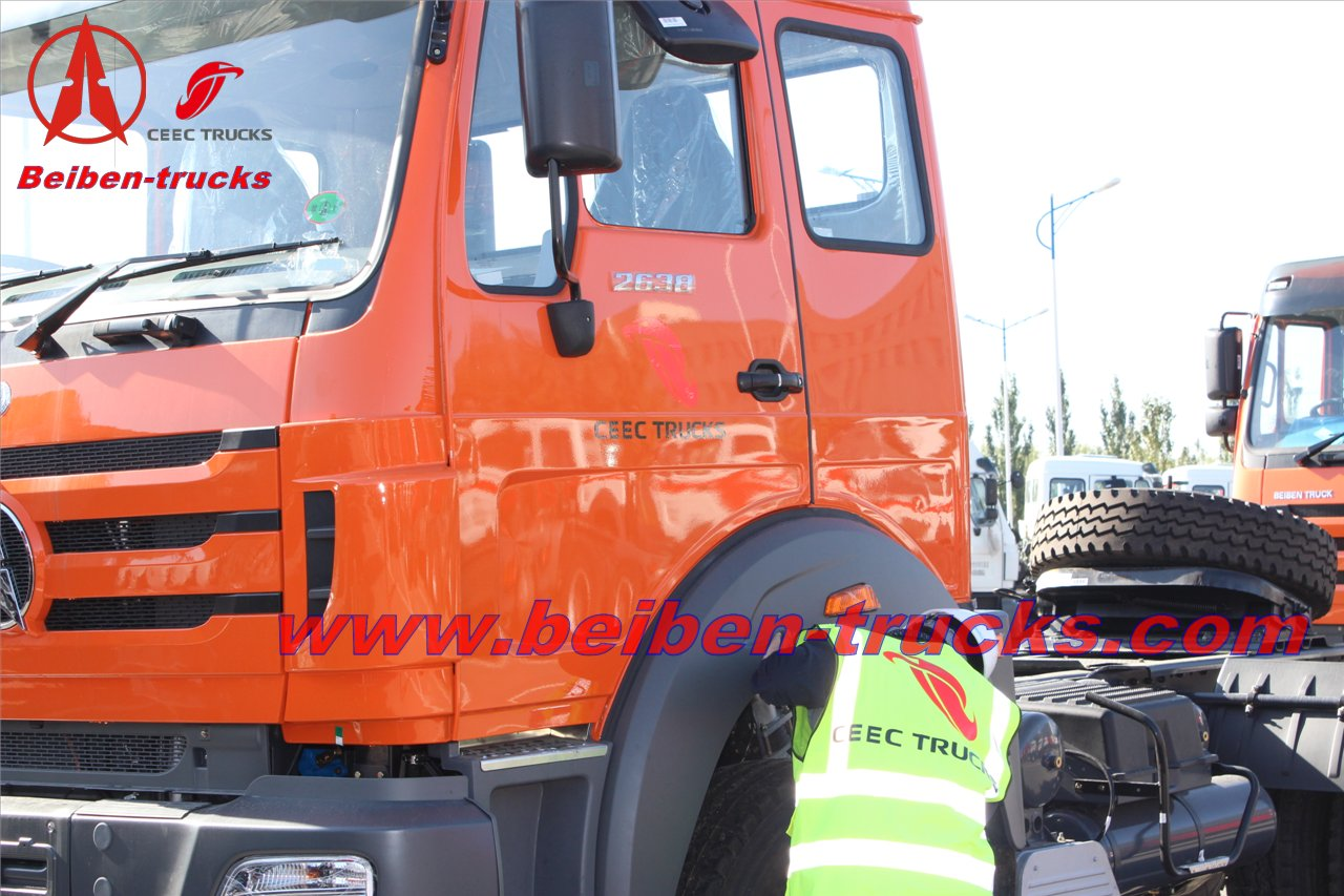 420hp beiben camion tracteur 10 roues north benz truck head  manufacturer
