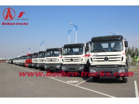 Beiben 4x2 towing truck 290hp truck head benz technology tractor truck  supplier