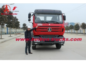 cheap New Beiben NG80 6x4 truck tractor for congo