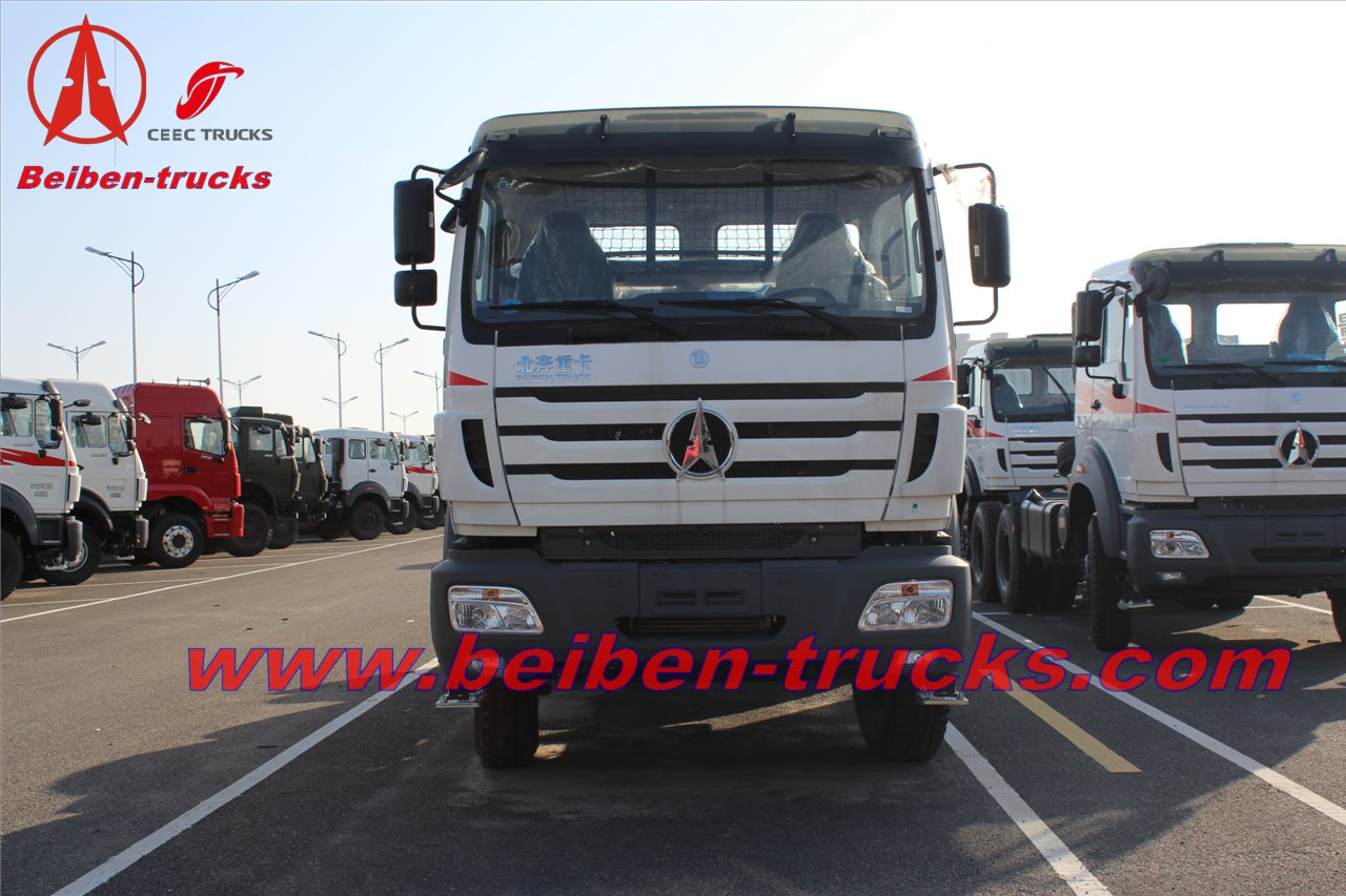 afria Beiben 10 wheels prime mover 380hp tractor truck 6x4 North Benz 2638