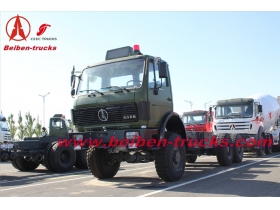 china baotou Bei ben tractor truck 420hp truck head North Benz 2542S Benz technology
