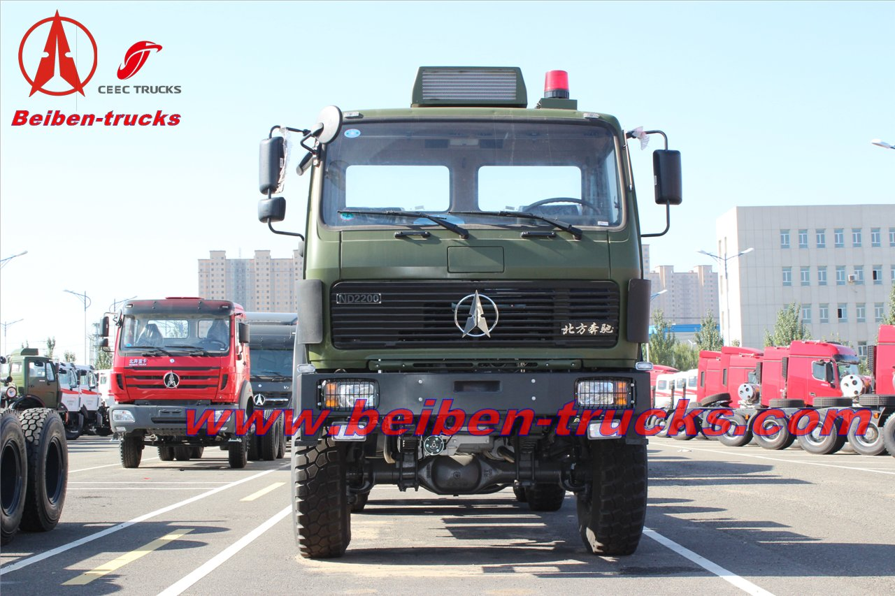North Benz tractor truck 380hp truck head price Beiben  supplier