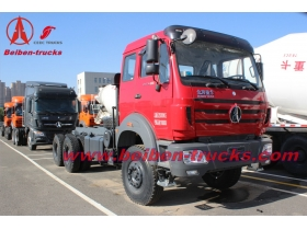 congo 420hp Beiben tractor truck North benz 2542 truck head