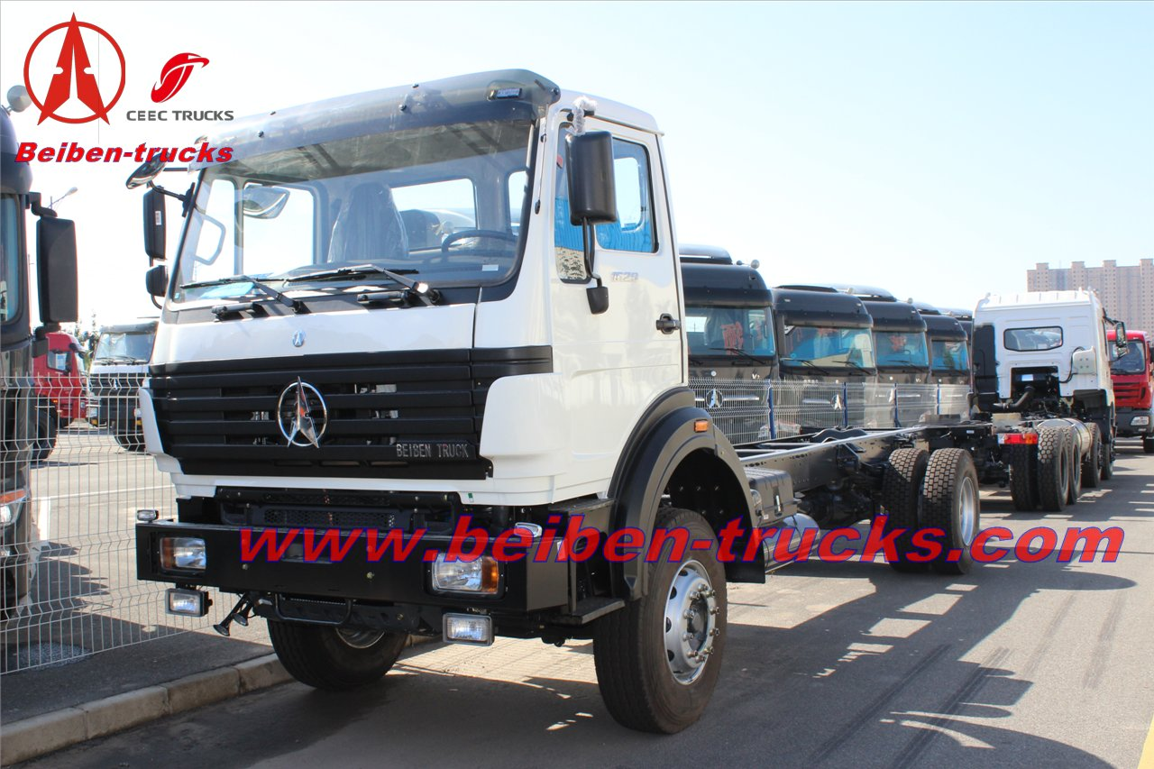 China high quality 380hp Beiben truck tractor 6x4 camion tracteur beiben supplier