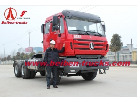 china supplier Best Beiben tractor trucks for congo