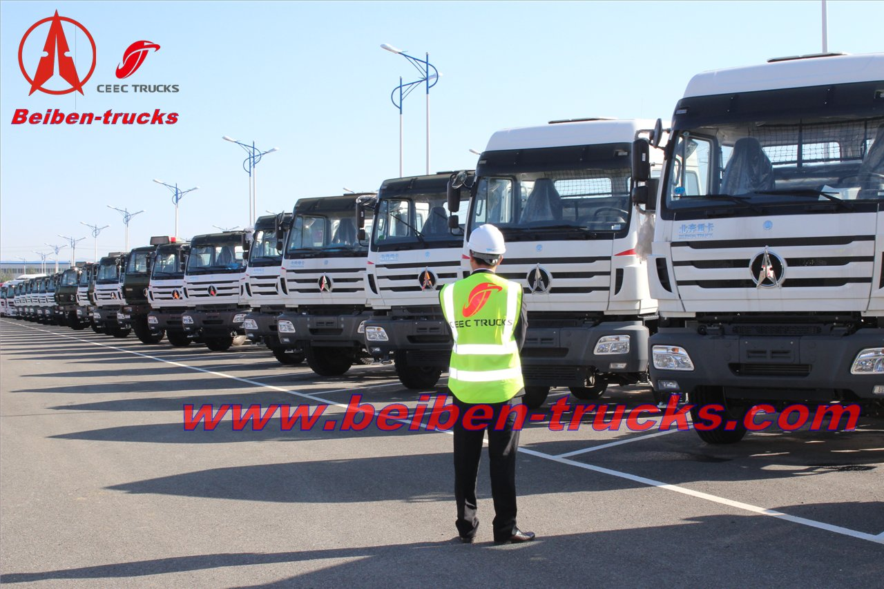 best quality China manufacture Beiben NG 80 6X4 trucks for sales