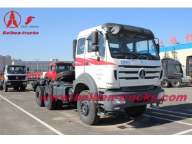Bei ben 380hp tractor truck North benz 2538S truck head supplier in china