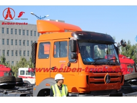 6x4 420hp ND42502B34J7 North Benz truck price for congo