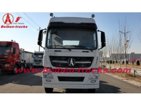 china 2015 new BEIBEN V3 380hp 6x4 truck tractor for sale
