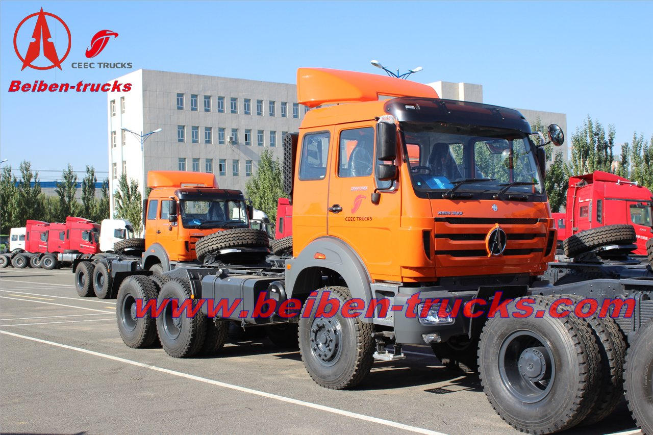 380 HP Beiben NG 80 6X4 tow tractor truck for africa