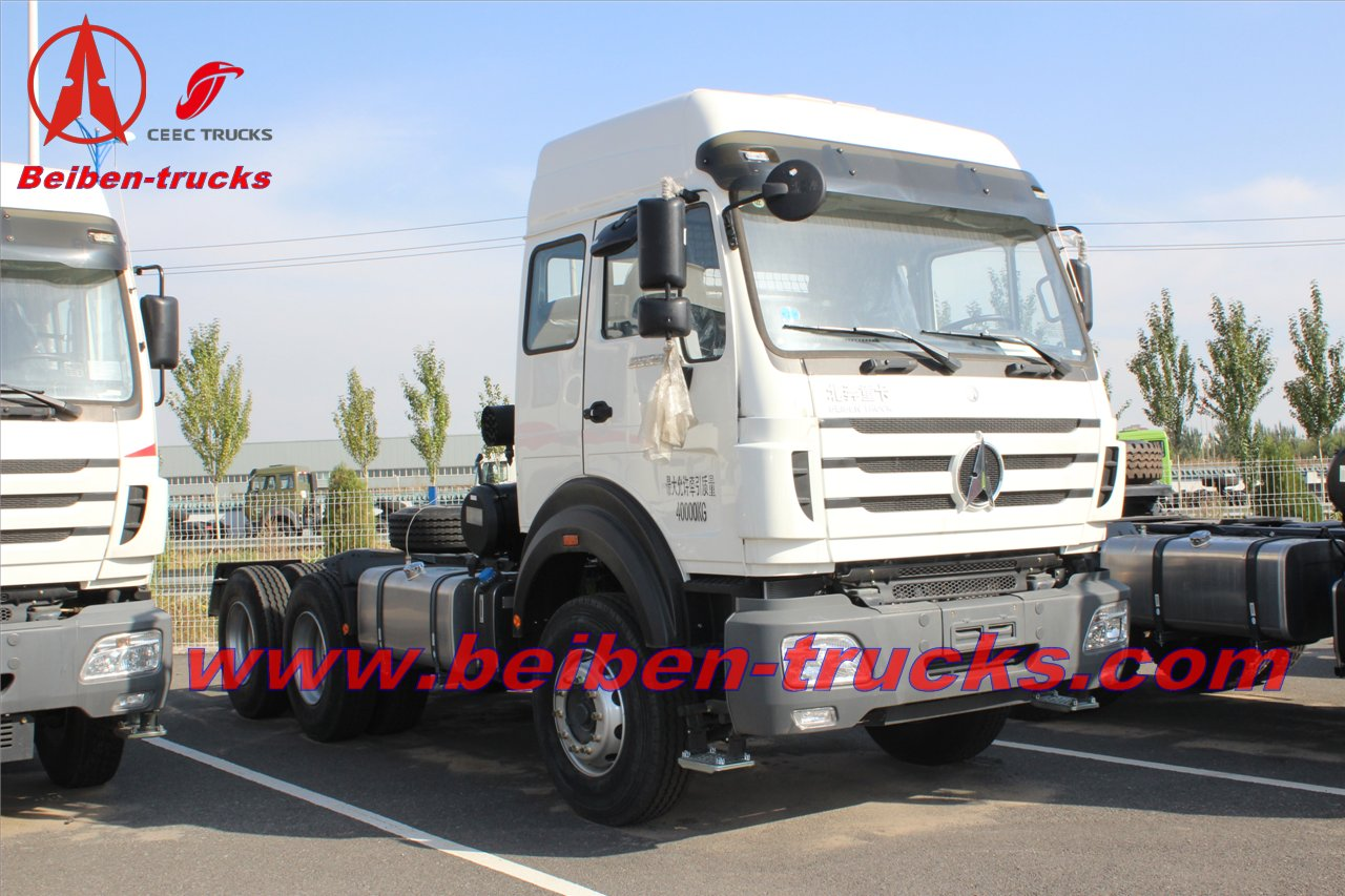 Strong Horsepower Beiben NG80 Series 4X2 towing truck  price