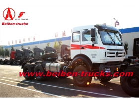 Best Quality 6x4 420hp Beiben container prime mover  for congo