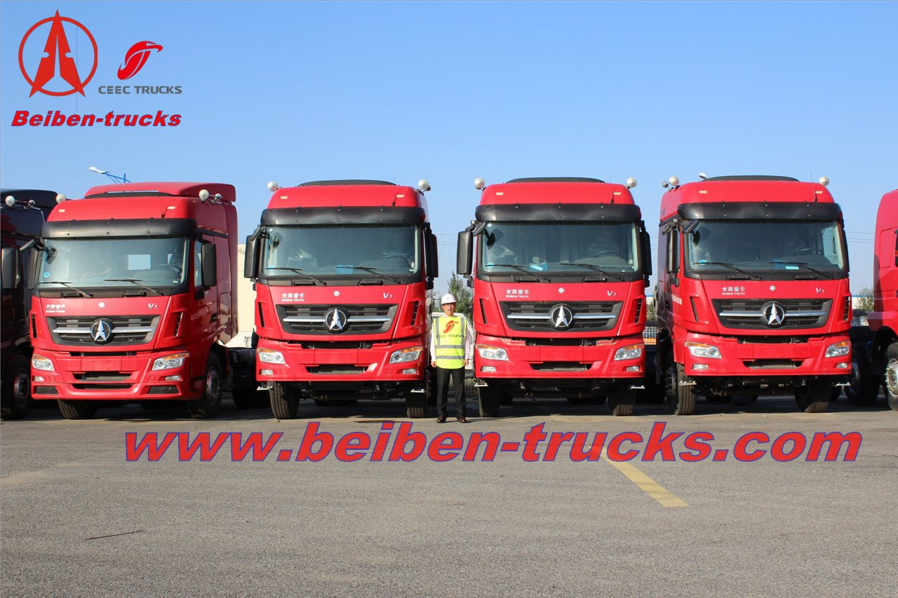 china Beiben Heavy Duty V3 6x4 Tractor trucks for sale