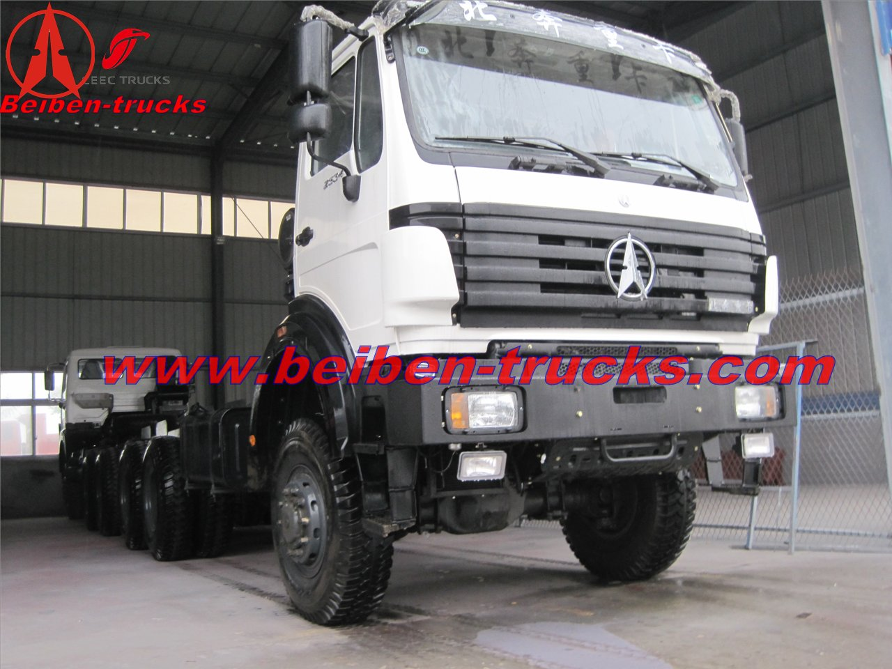 BEIBEN 6x4 Tractor Truck/manual mercedes supplier