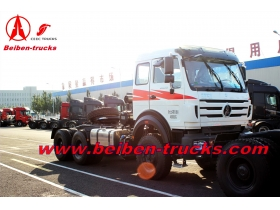 best quality Hot Sale in Africa LHD&RHD 6x4 Beiben Tractor Truck