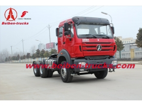 North benz BeiBen V3 NG80 6X4/6x6 Tractor Head Tow Truck 340-420hp price
