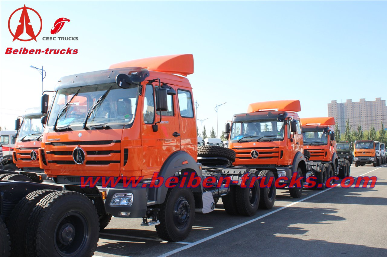 Beiben NG80 Series With WEICHAI Engine tractor truck supplier in china
