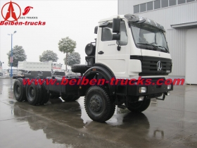 6x4 Beiben tractor truck 400hp/mercedes benz technology tractor heads supplier