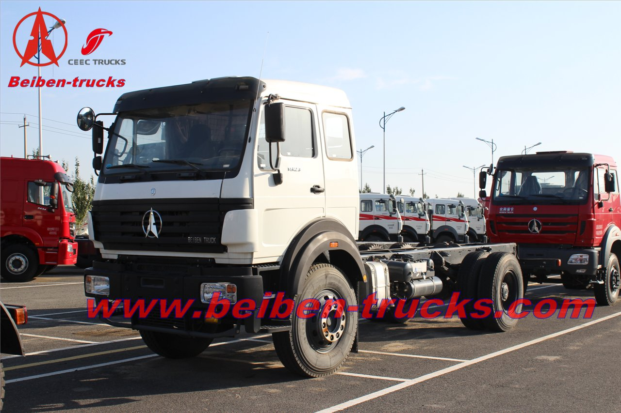 Beiben North Benz Tractor Truck&Tractor Head 6x4 for congo