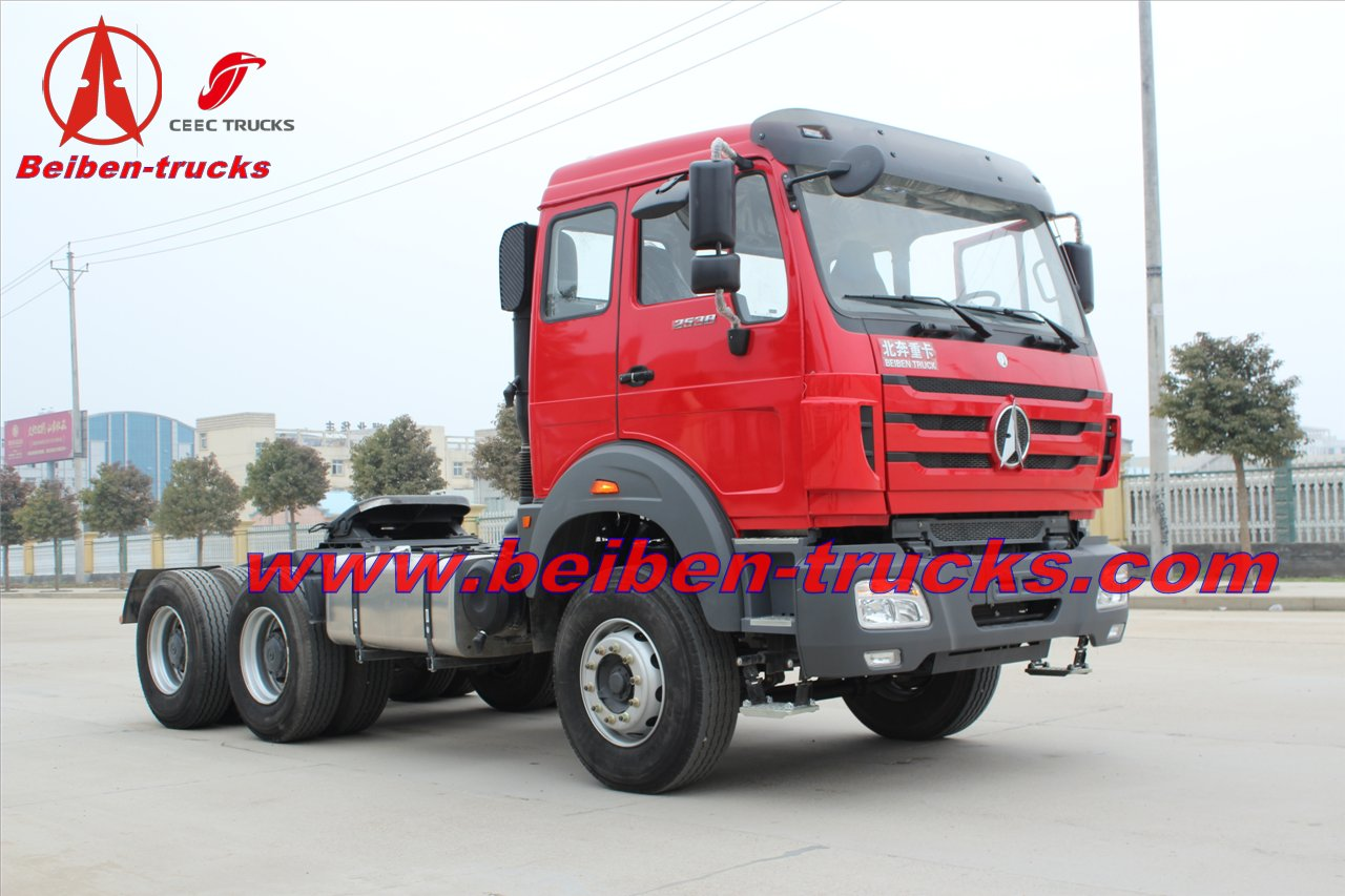 New Beiben NG80 truck tractor trailer head  supplier