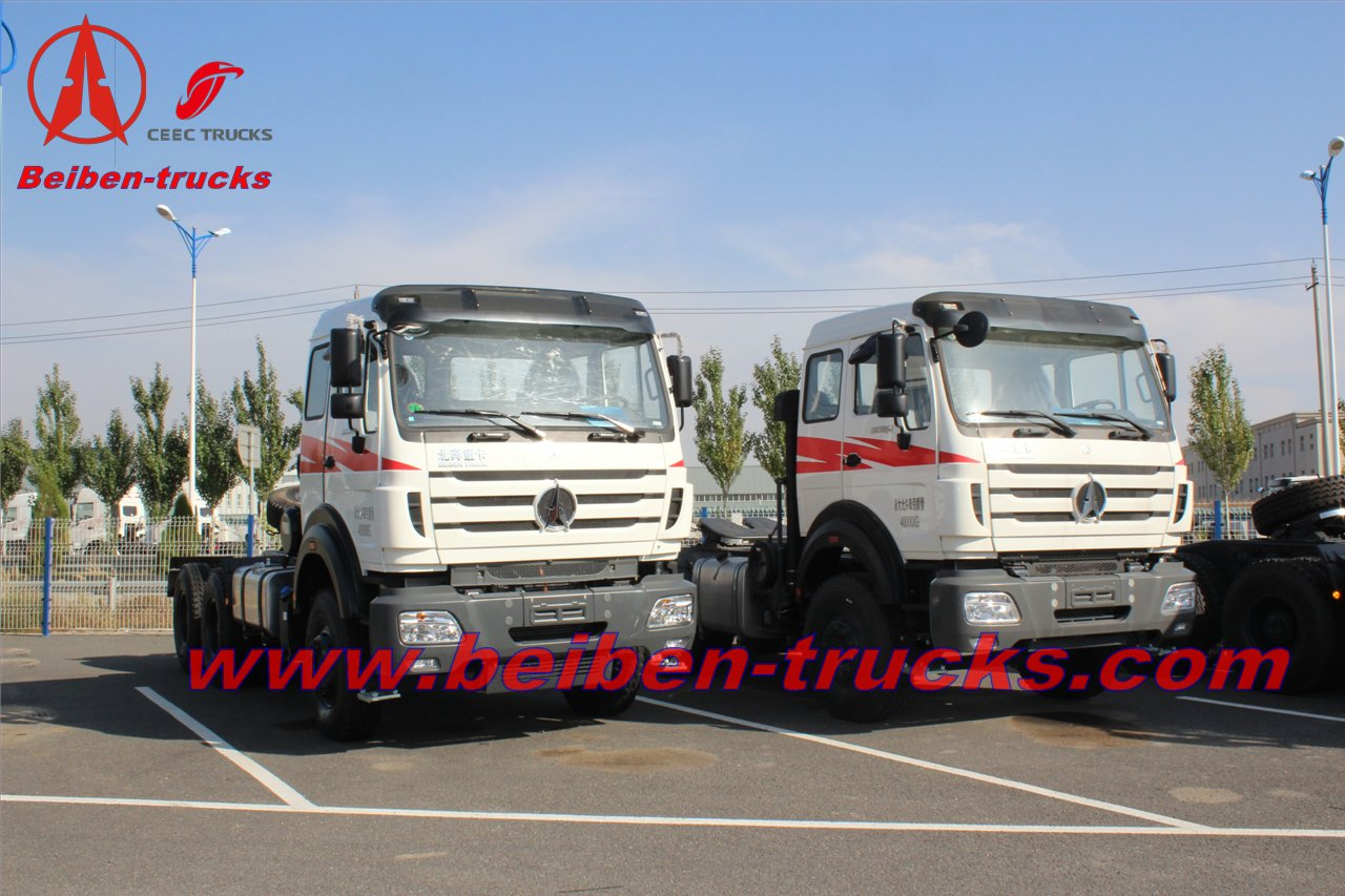 cheap Beiben NG 80 6X4 tow tractor truck Price New Truck Algeria