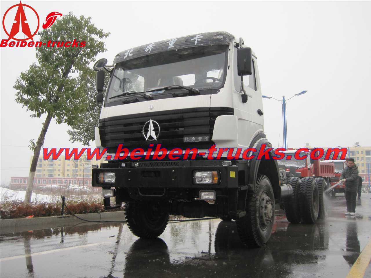 North Benz Truck 6x4 40ton High Quality Tractor Truck price