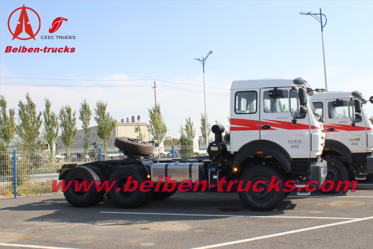cheap Beiben NG 80 6X4 10 wheels New truck tractors Price