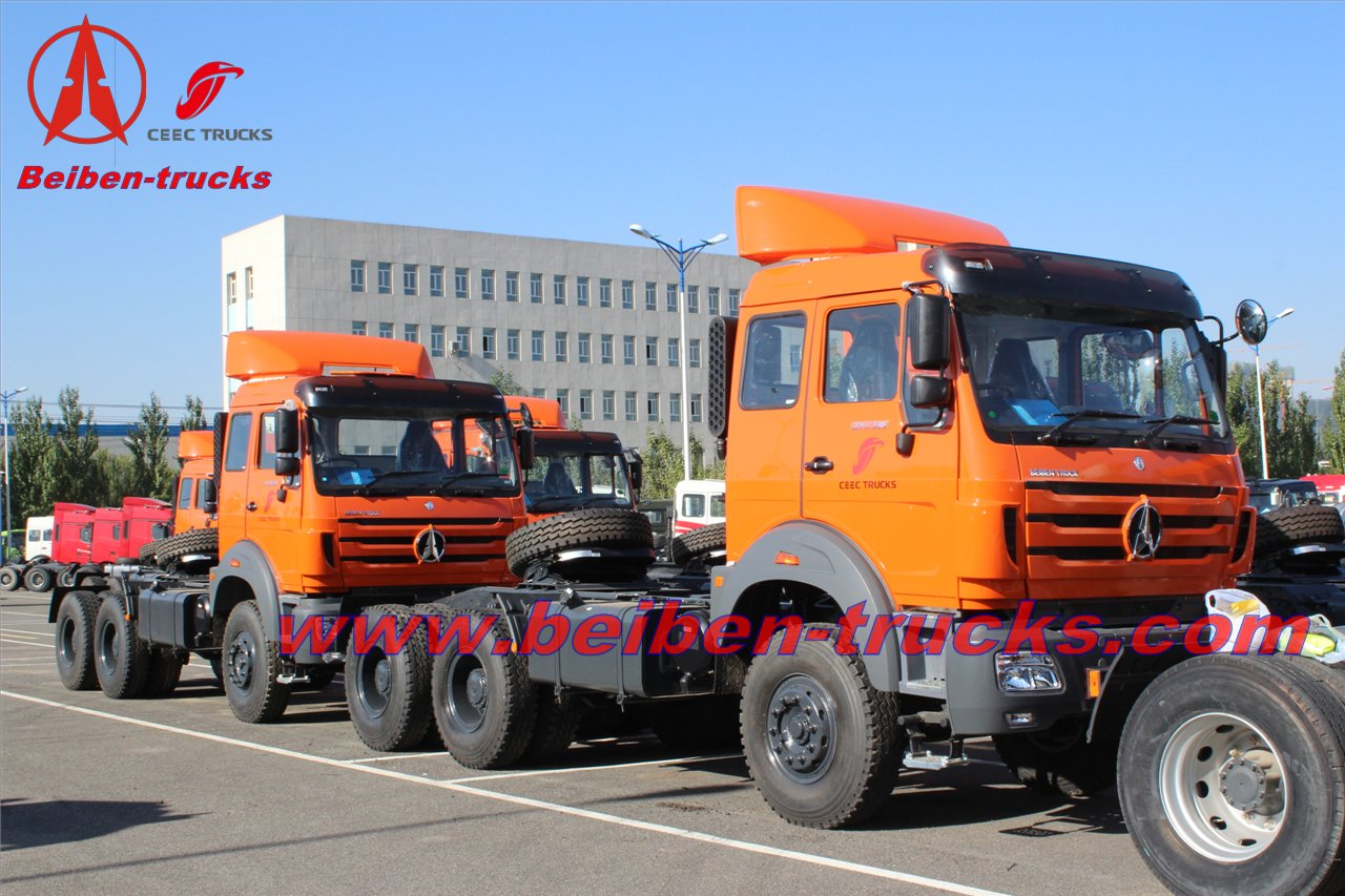 Strong Horsepower Beiben NG80 Series 4X2tractor truck supplier