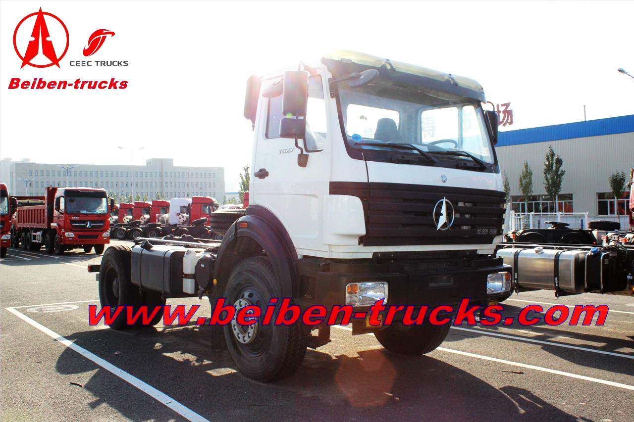 North benz 6x4 Tractor Head&Beiben Truck Tractor supplier
