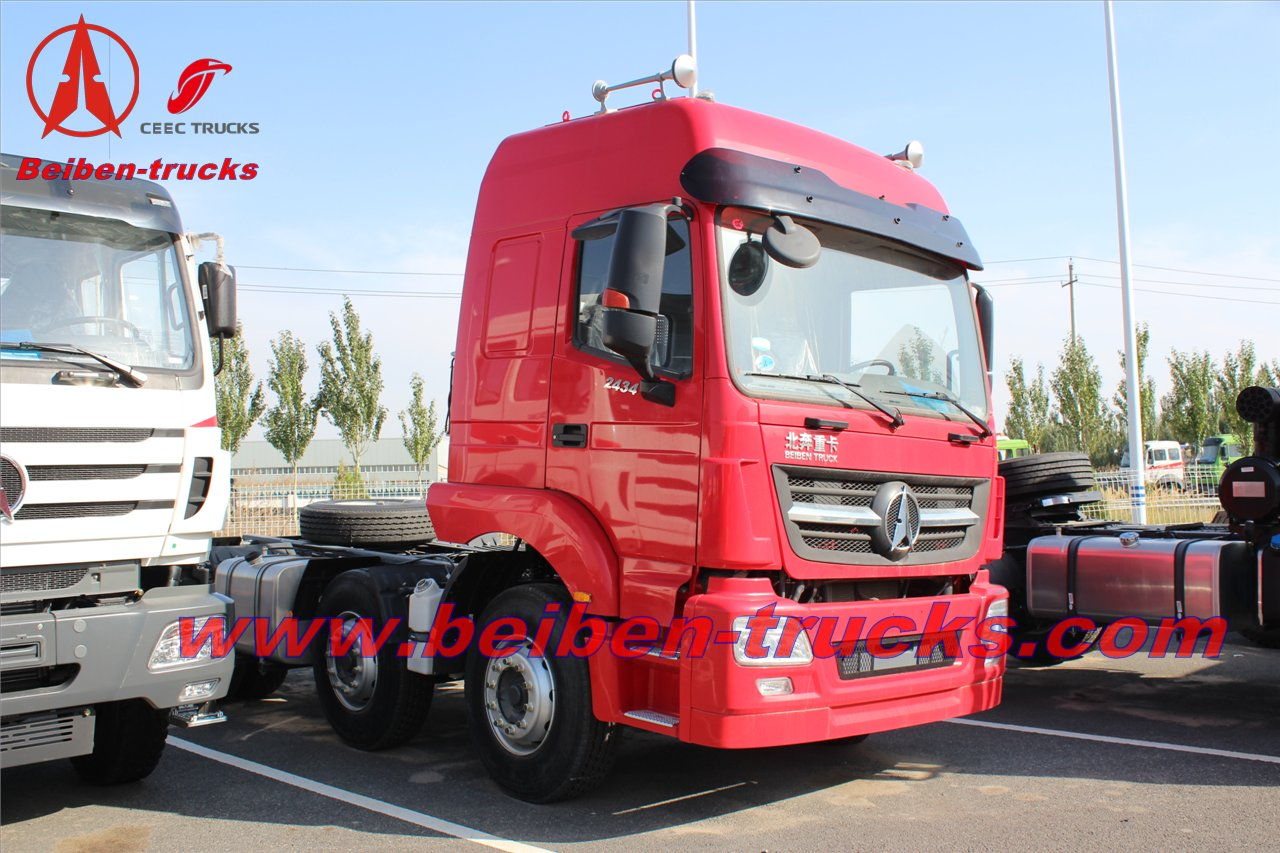 baotou Beiben V3 6x4 Tow Tractor new truck prices With WEICHAI Engine