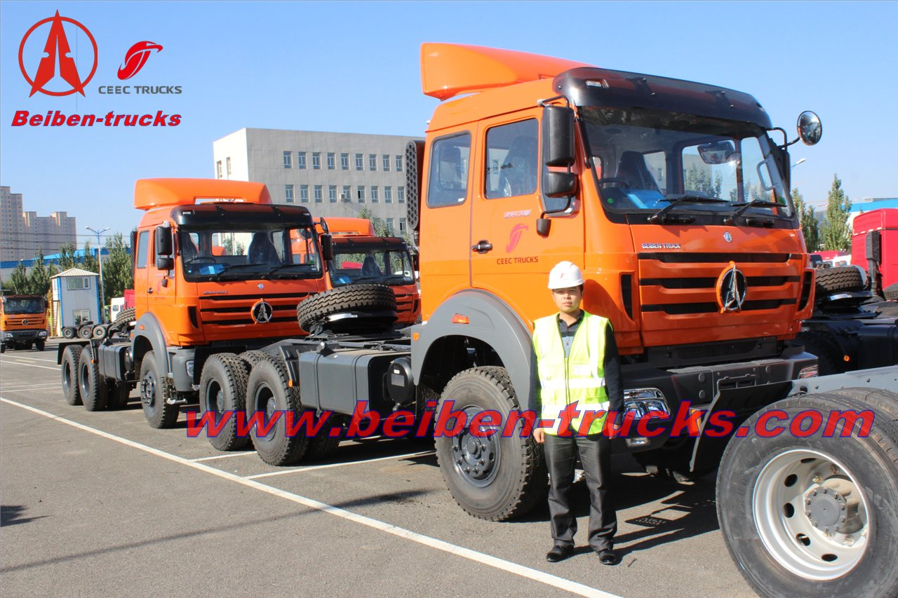 china best Beiben NG80 Series With WEICHAI Engine truck tractors Price