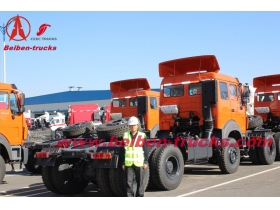 380hp Powerful Beiben Tractor,NG80 6x4 tractor truck price