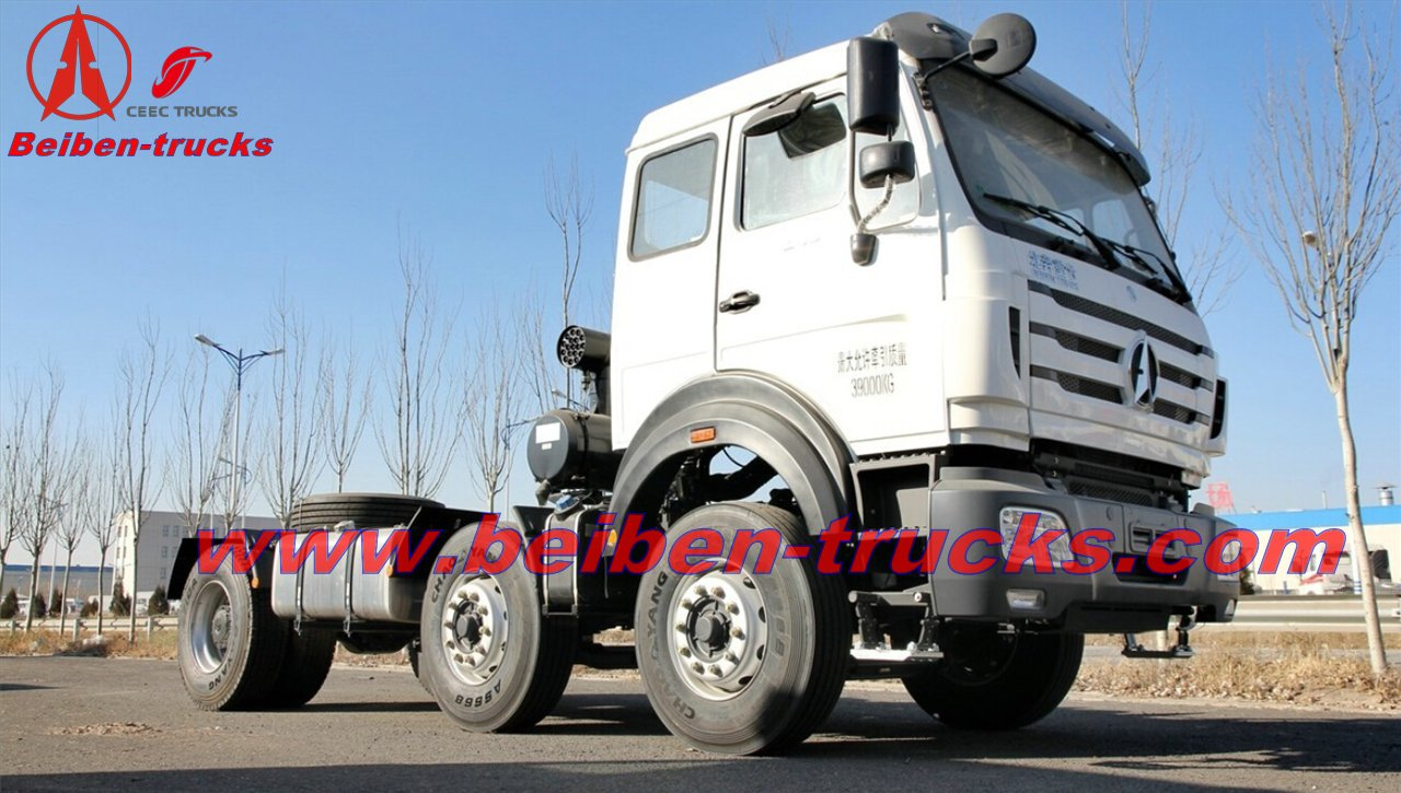 congo North Benz 6x4 Tractor truck 340hp trailer truck  supplier