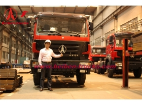 baotou North benz 6x4 tractor truck&beiben tractor heads supplier