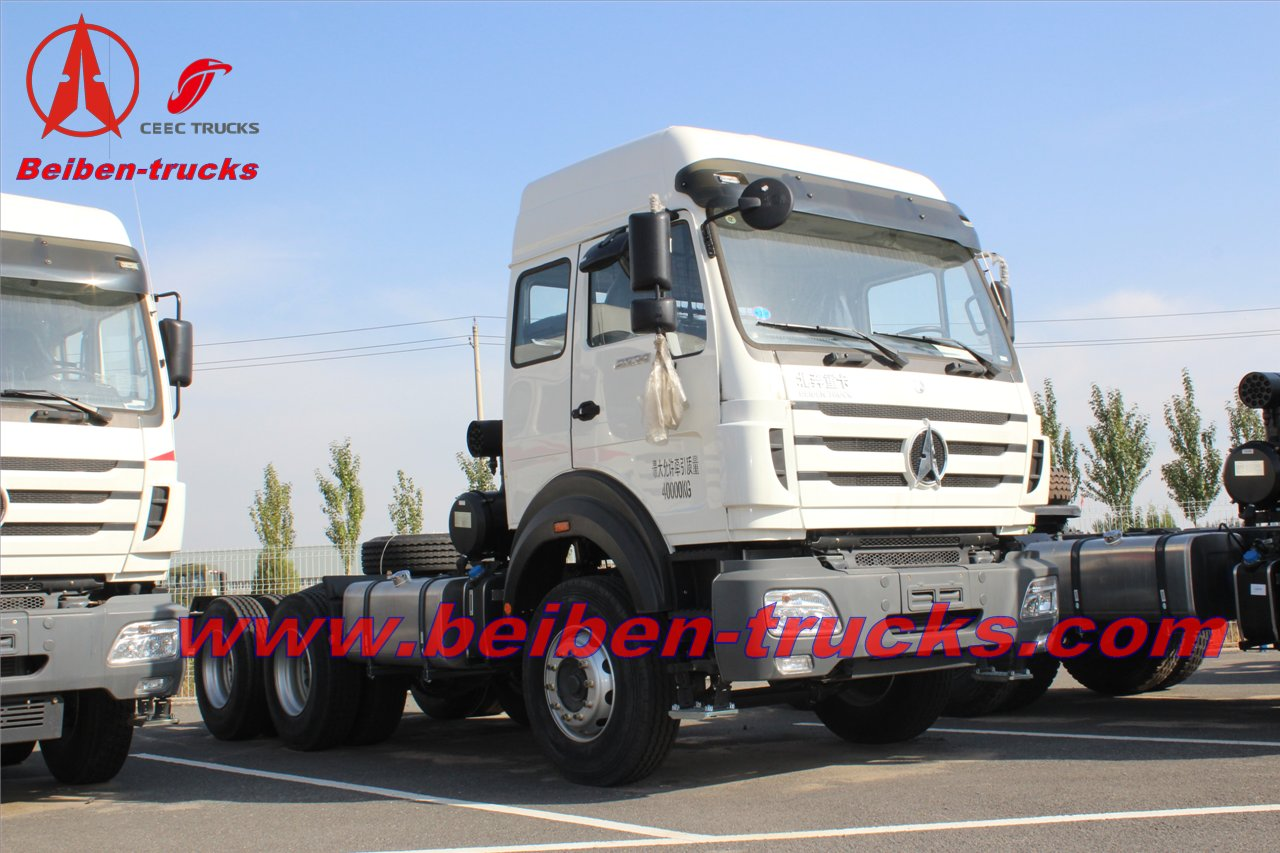 cheap 310HP Beiben NG80 trailer head trucks For Sale