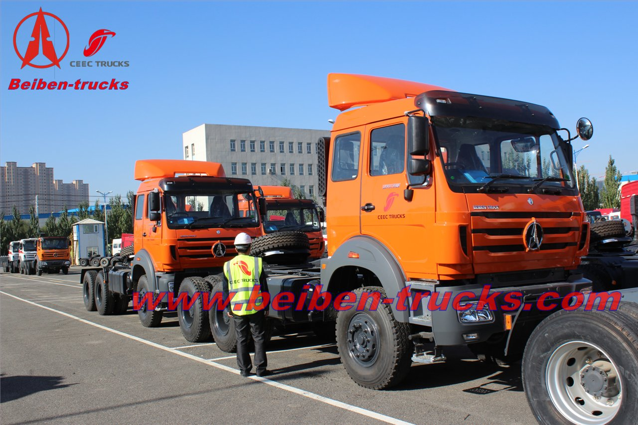 best BEIBEN NG80 6x4 High Quality Tractor Truck For Sale