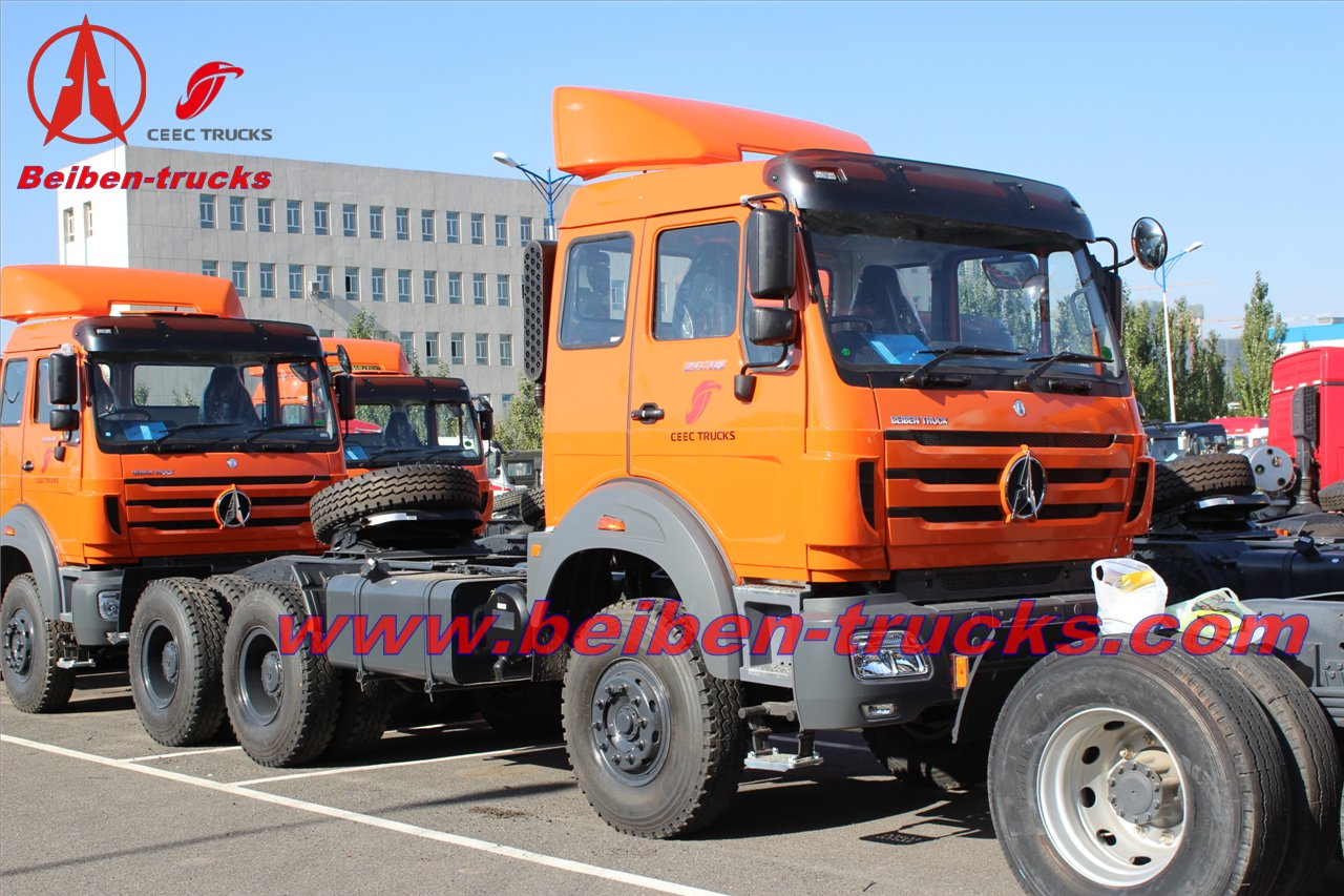 310HP Beiben NG80 tractor truck  supplier from baotou beiben plant