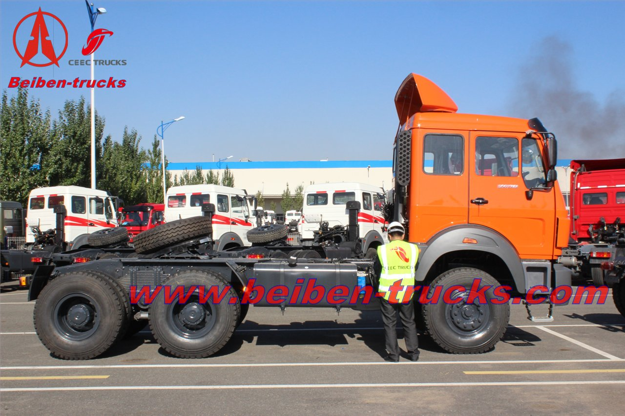 baotou 380HP Beiben NG 80 6X4 tow truck New Truck Prices