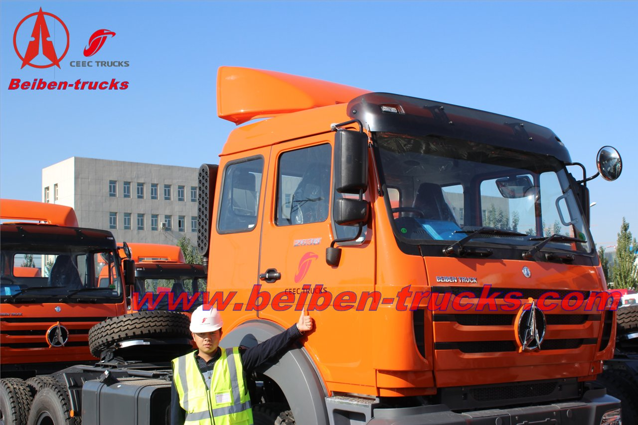 baotou beiben brand new tractor truck NG80 manufacturer