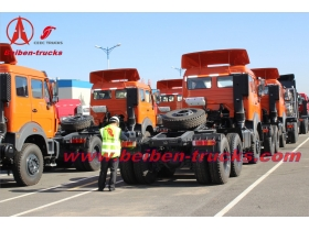 Powerful Beiben 6X4 tow tractor truck 10 Wheeler Trucks  price