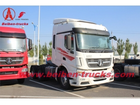 North benz beiben 6x4 tractor truck /340hp tractor trailer  supplier in congo