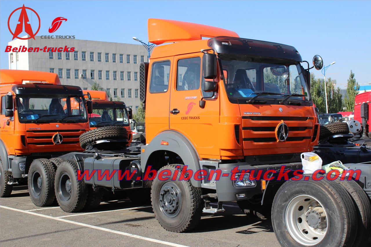 best 380HP Beiben NG 80 6X4 tow tractor  supplier from china